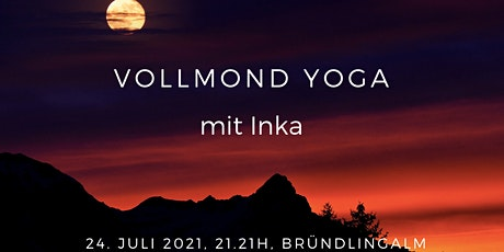 Vollmond Yoga mit Inka tickets