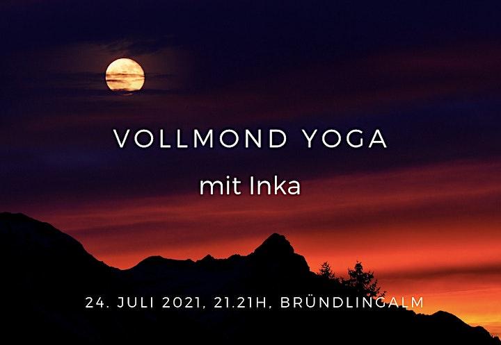Vollmond Yoga mit Inka: Bild