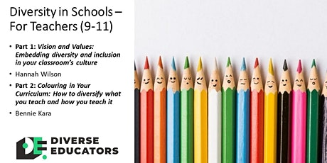 Diversity in Schools Masterclass - For Teachers (repeat) tickets