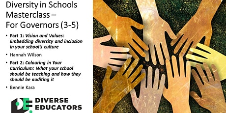 Diversity in Schools Masterclass - For Governors (repeat) tickets