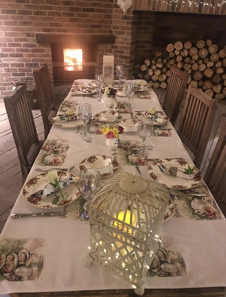 Summer Barn - Private Hire -  Xmas Dining by Fairylight!  - Dec 20 image
