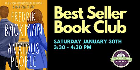 Bestseller Book Club: Anxious People by Fredrik Backman tickets
