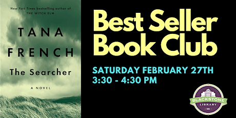 Bestseller Book Club: The Searcher by Tana French tickets