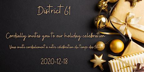 District Holiday Party / PARTY DES FÊTES billets