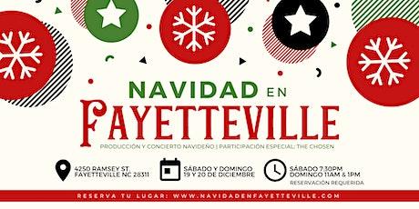 Navidad En Fayetteville boletos