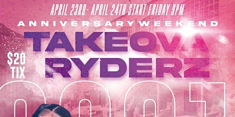 TakeOva Ryderz MC 5th Anniversary tickets