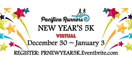 Pacifica Runners New Year's Virtual 5K tickets