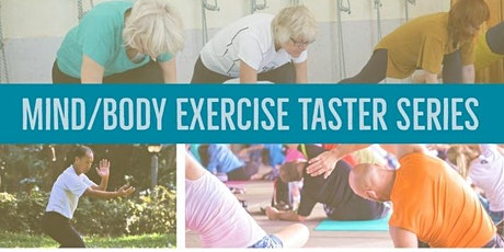Mind/Body Exercise Taster Series tickets