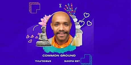 SocietyX - Common Ground Meetup tickets