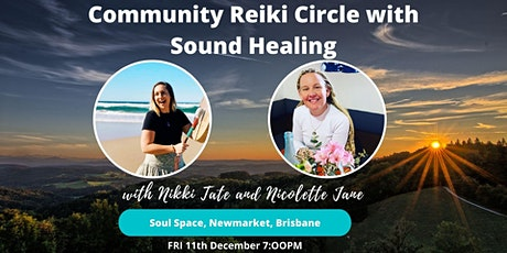 Community Reiki Circle with Sound Healing (Brisbane) tickets
