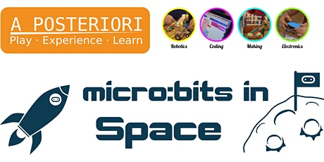 micro:bits in Space tickets