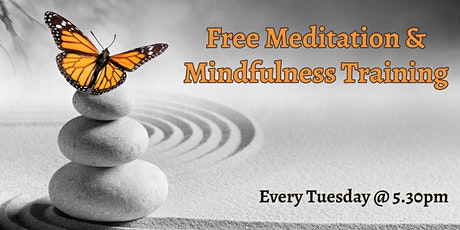 Free Meditation and Mindfulness Training tickets
