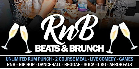 RnB Beats and Brunch tickets