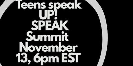 Teens Speak Up! Speak Summit : Black Lives Matter tickets