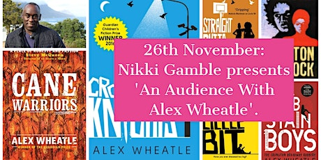an Audience with Alex Wheatle tickets