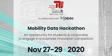 Mobility Data Hackathon tickets