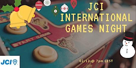 JCI International games night Christmas edition tickets