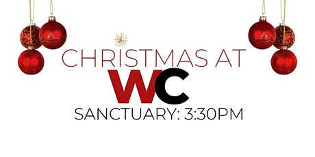Christmas Eve: 3:30pm Sanctuary Traditional Service tickets