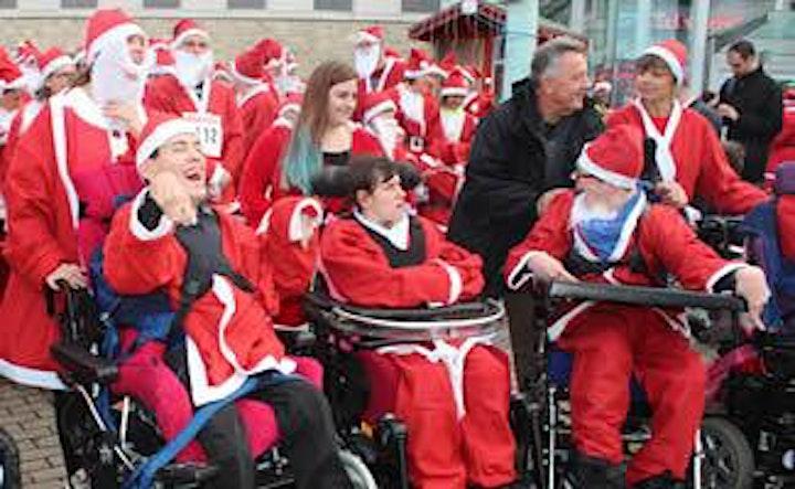 Plymouth Virtual  Santa Fun Run image