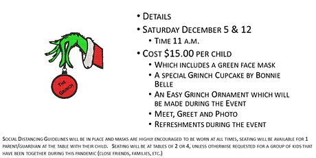 Sweet A Licious Presents the Grinch and Cindy Lou Who tickets