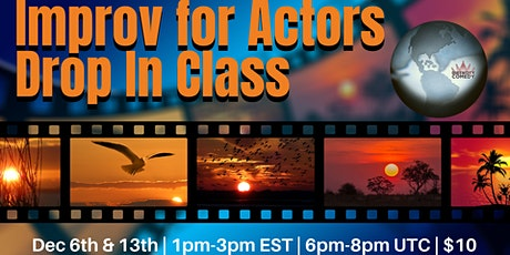 Improv for Actors Drop In Class with Karla Dingle tickets