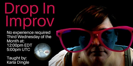 Drop In Improv Online tickets