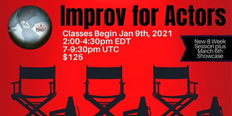 Improv for Actors with Karla Dingle tickets