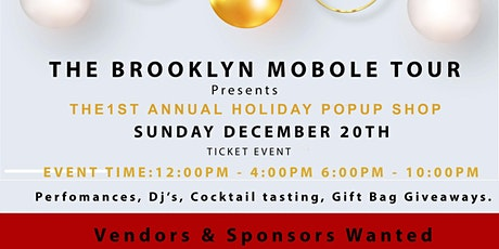 Brooklyn Mobile Tour holiday pop up shop tickets