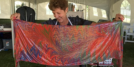 Create a Silk Scarf, SIP & DIP Workshop- VOLCANIC HILLS WINERY tickets