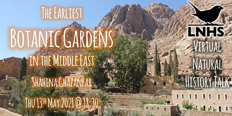 The Earliest Botanic Gardens in the Middle East by Shahina Ghazanfar tickets