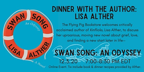 Virtual Dinner with the Author: LISA ALTHER, Swan Song tickets