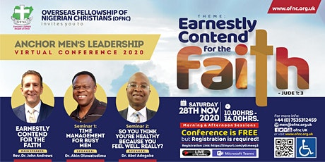 OFNC ANCHOR MEN'S LEADERSHIP CONFERENCE 2020 tickets