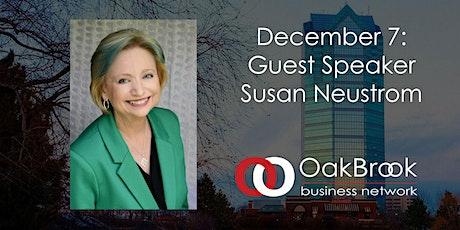VIRTUAL Oak Brook Meeting December 7: Susan Neustrom tickets
