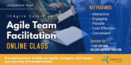 Agile Team Facilitation (ICP-ATF) | Virtual - Full Time tickets