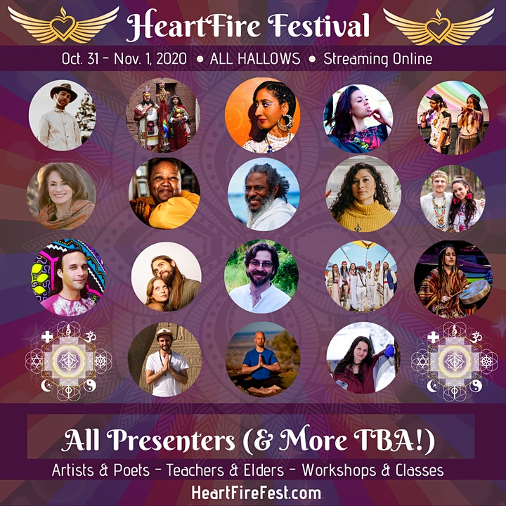 HeartFire Festival feat. Trevor Hall & more - All Hallows! image