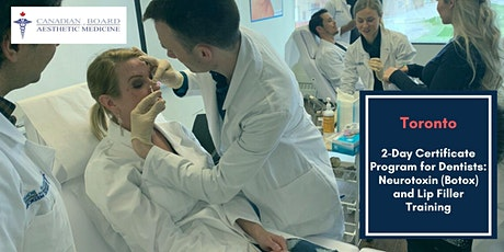 2-Day Certificate Program for Dentists- Toronto tickets