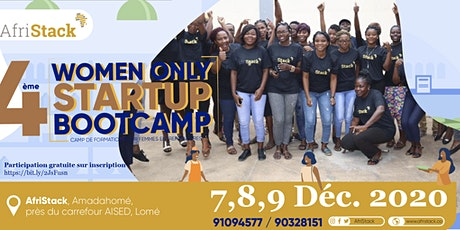 AfriStack Women-Only Summer Startup Bootcamp billets