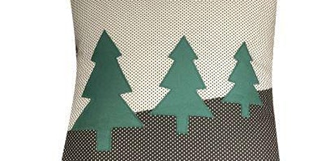 Christmas Tree Applique Cushion Course tickets