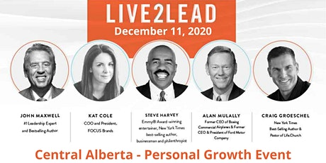 Live2Lead Event - Change Your World - Central Alberta tickets