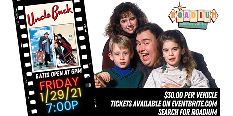 UNCLE BUCK - Presented by the Roadium Drive-In tickets