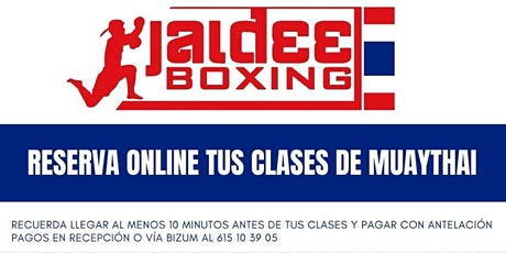 Clases JaideeBoxing Adultos tickets