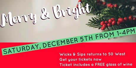 100th Wicks & Sips Party tickets