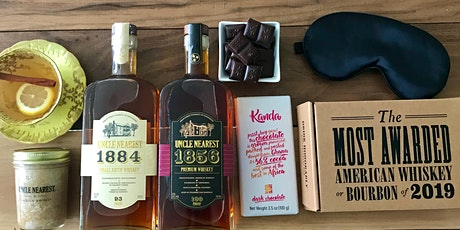 Uncle Nearest Premium Whiskey+ Kanda Chocolates Virtual Winter Pajama Party tickets