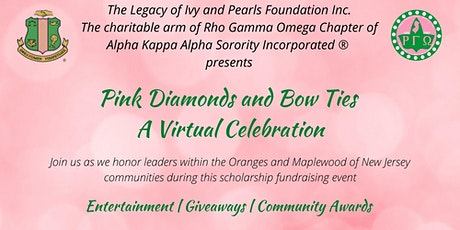 Pink Diamonds and Bow-Ties : A Virtual Celebration tickets