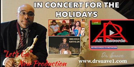 """Dr. Alexander Nicolas known as """"Dr. Suave"""" in Concert tickets"""