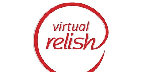 Melbourne Virtual Speed Dating | Do You Relish Virtually? | Singles Event tickets