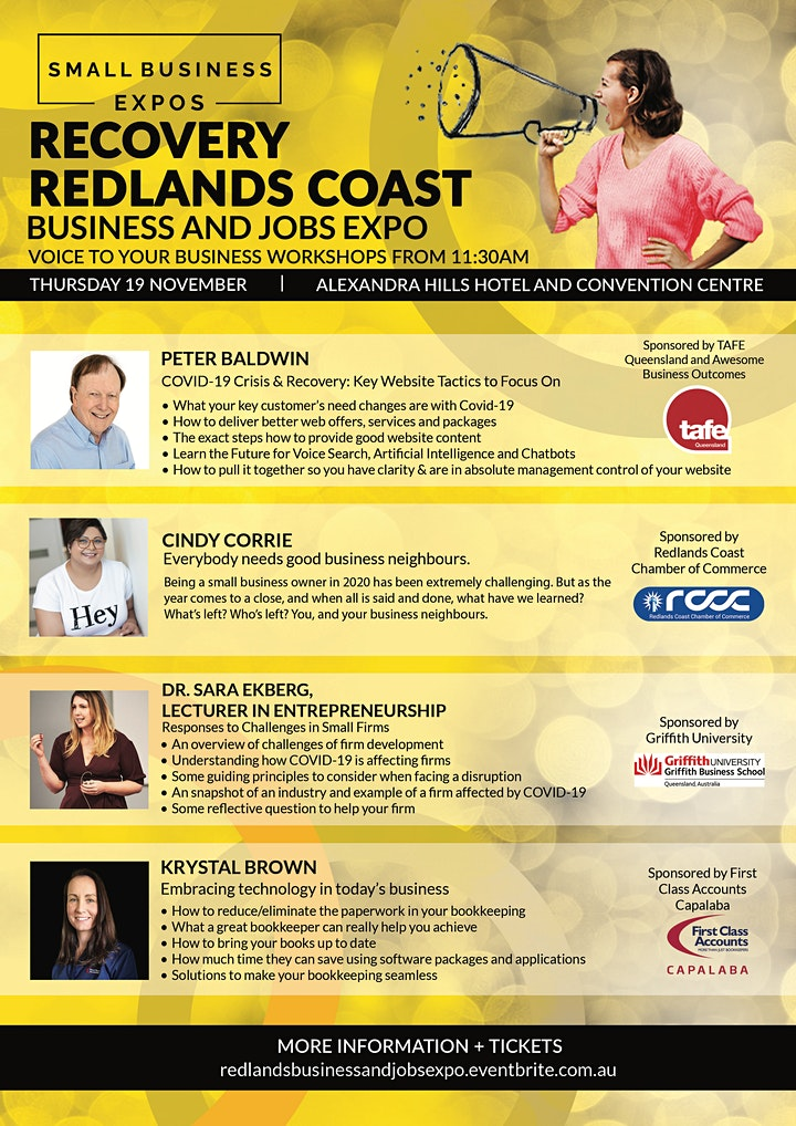 Redlands Coast Business and Jobs Expo image