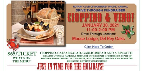 Cioppino & Vino tickets