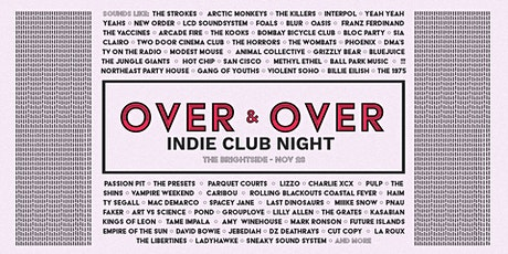 Over & Over - An Indie Clubnight tickets