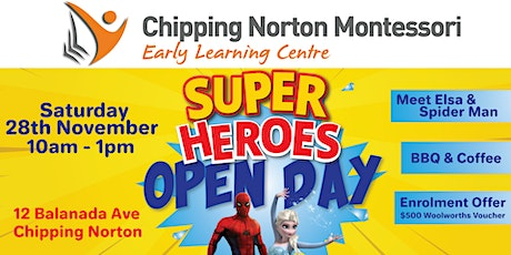 Chipping Norton Montessori Open Day 2020 tickets